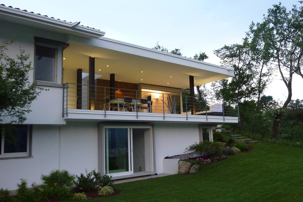 villa al lago awz group architetti